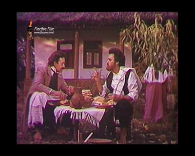 Volontir Mihai-vocea lui Ion Creanga in film Luceafarul de Emil Loteanu-scene-Eminescu-Creanga-film 1986-400px