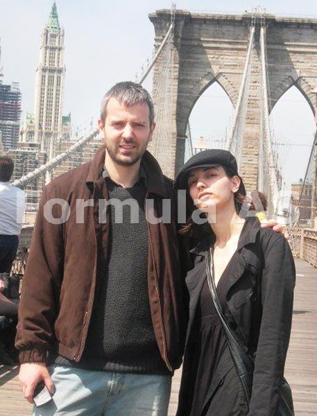 Doina Uricariu-8 Cei doi copii Alex si Andreea la New York