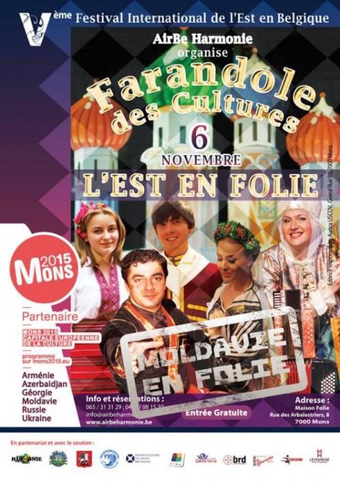 Festivalul Interntional Est -Mons Belgia-6-8 nov2015