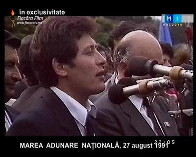 Mihai Ghimpu MAN 27 august 1991-400px