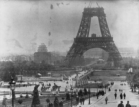 Turnul Eiffel in constructie-Jurnalul-ro-450px