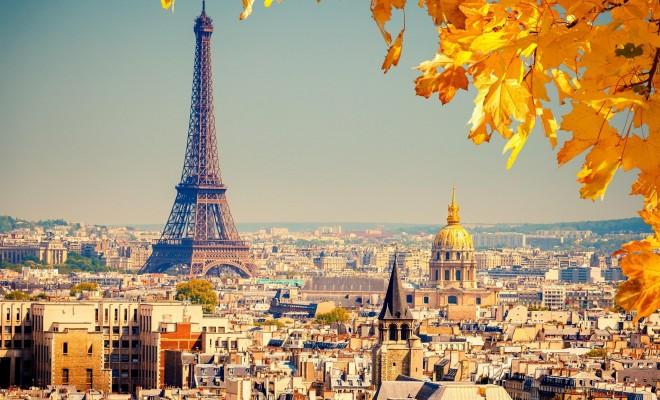 Turnul Eiffel-toamna