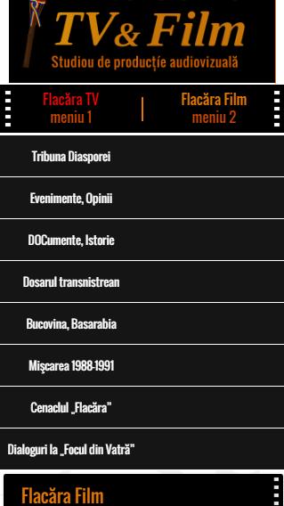 2-FlacaraTV-md pe tel mobil-MENIU 1-din 25-12-2015