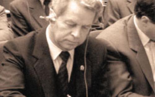 Tiajelnikov Evgheniy Ambasadorul sovietic in ROmania 1989-500px