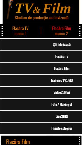 3-FlacaraTV-md pe tel mobil-MENIU 2-din 25-12-2015