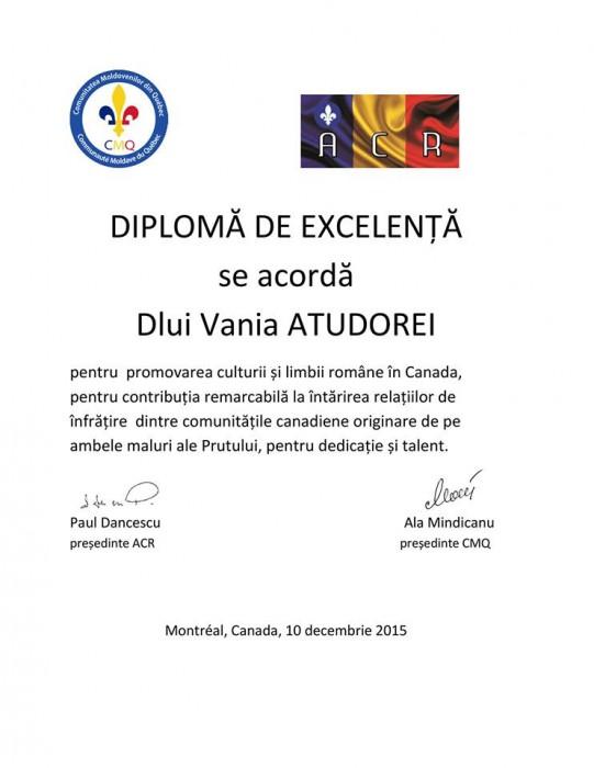 CMQ- ACR DIPLOMA Vania Atudorei