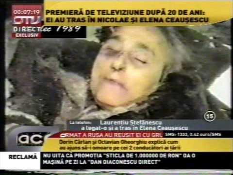 Ceausescu Elena-impuscata-captura OTV