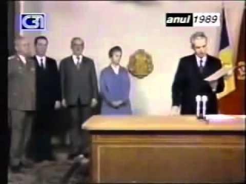Ceausescu Nicolae-adresare catre popor TVR-20dec1989-captura video