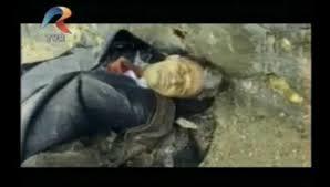 Ceausescu Nicolae impuscat-captura din video TVR