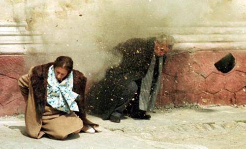 Ceausescu Nicolae si Elena executie 25-12-1989