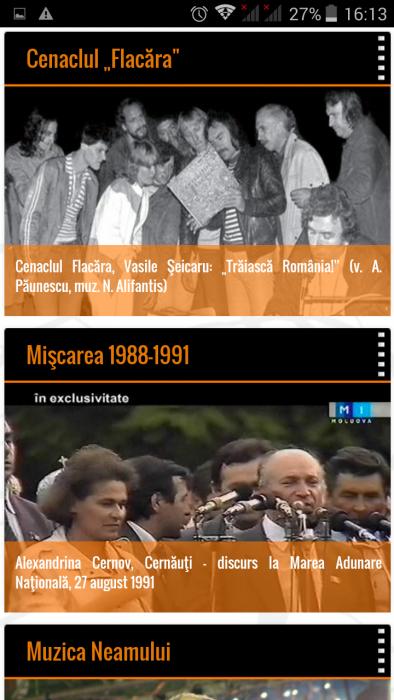 FlacaraTV-md pe tel mobil-Cenaclul Flacara-Miscarea1988-1991-Muzica Neamului-din 25-12-2015