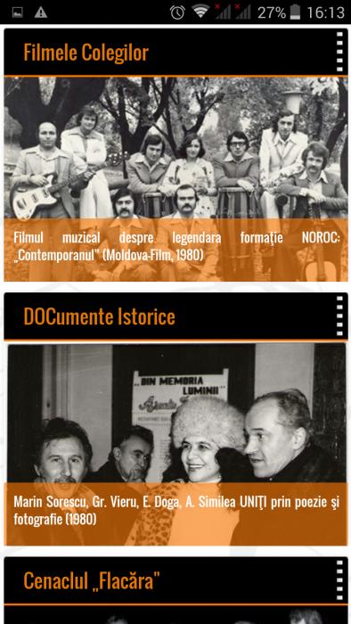 FlacaraTV-md pe tel mobil-Filmele colegilor-DOCumente istorice din 25-12-2015