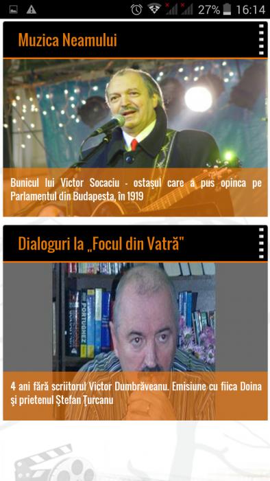 FlacaraTV-md pe tel mobil-Muzica Neamului-Dialoguri la Focul din Vatra-din 25-12-2015