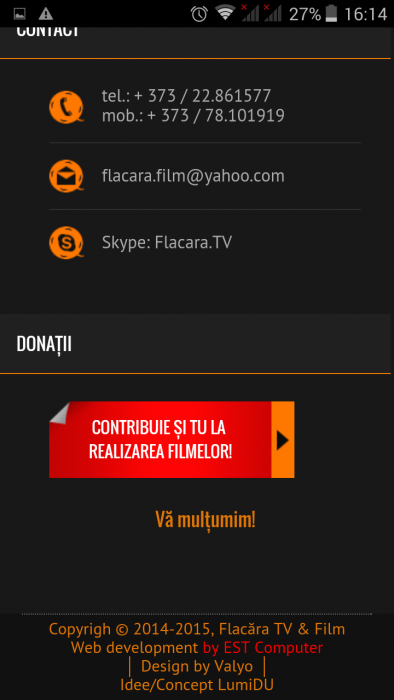 FlacaraTV-md pe tel mobil- footer home 1-TEL si Contrbuie-din 25-12-2015