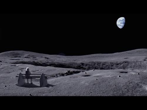 Spot de Craciun-Omul de pe Luna-mosul singuratic-500px