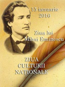 Academia Romana-Mihai Eminescu Ziua Culturii Nationale