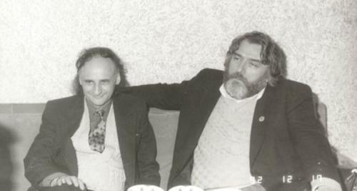 In memoriam Vieru Gr-Paunescu-Vieru-anii 90 alb-negru-500px