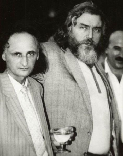 In memoriam Vieru Gr-Paunescu-Vieru anii 90-alb-negru2