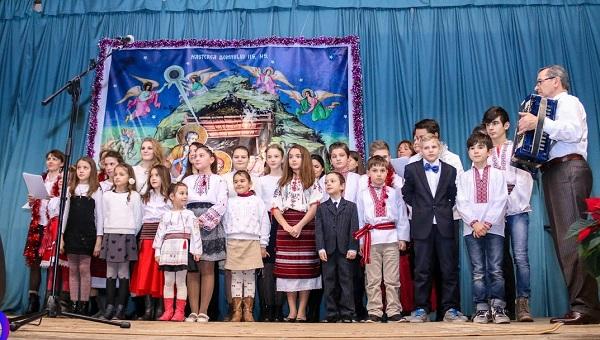Padova Italia-Concert de Craciun 7-Ansamblu copii