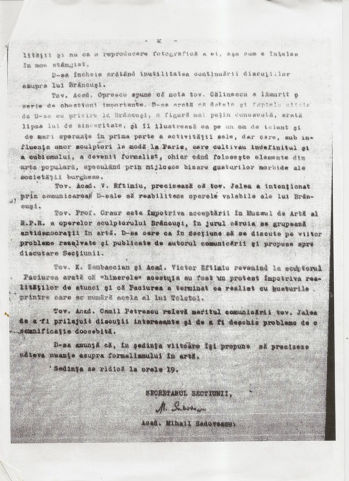 Acad Romana vs mostenire Brancusi-DOC 2 pagina-07-03-1951-700px