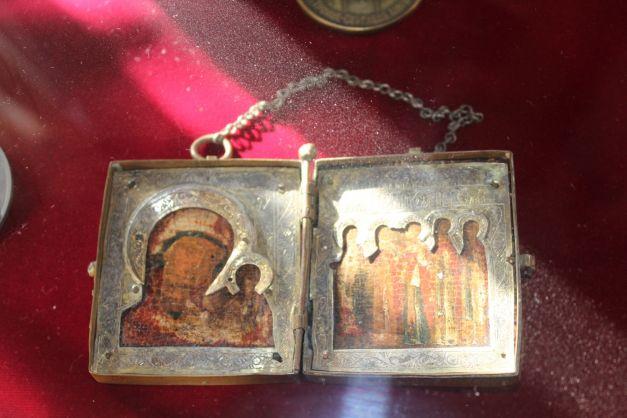 Icoana Patriarhului Teoctist purtata toata viata 627x0