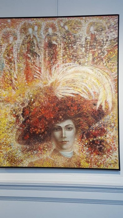 Ottawa-Vasile Mosanu-Expozitie pictura-Lady-31-02-2016