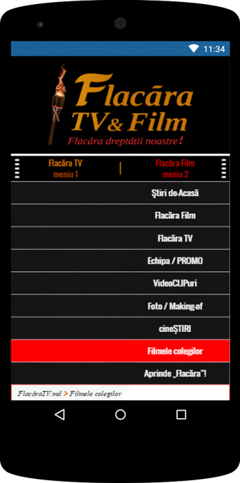 02-FlacaraTV-versiunea tel mobile Meniu 2-dreapta-final