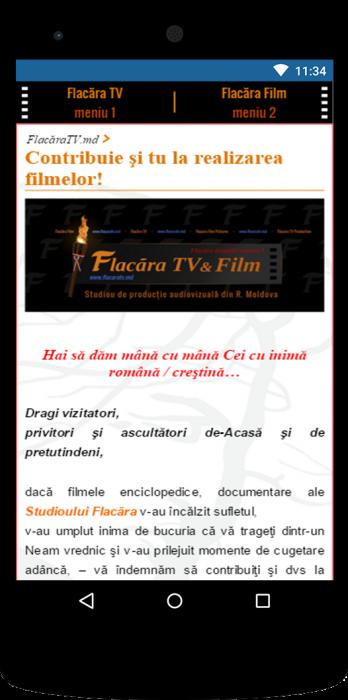 04-FlacaraTV-versiunea tel mobile-Hai sa dam mana cu mana-final
