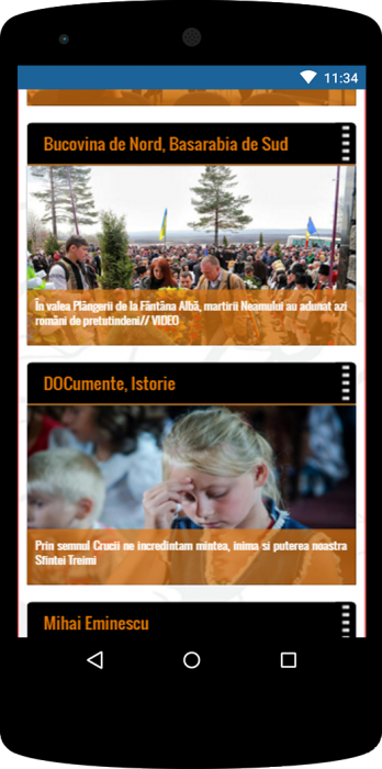 07-FlacaraTV-versiunea tel mobile-Home page-final