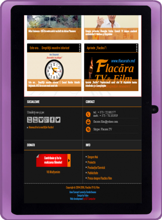 10-FlacaraTV-versiunea Tableta-FlacaraTV-footer