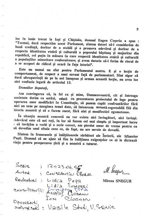 25-04-1995-Oboroc-Snegur-Initiativa Limba Romana in Constitutie-pagina 9-900px