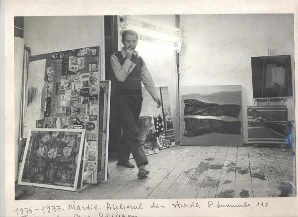 Andrei Sarbu-pictor Moldova- in atelier-foto Nicolae Raileanu-600px