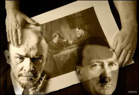 Lenin si Hitler doi monstri ai istoriei-470px
