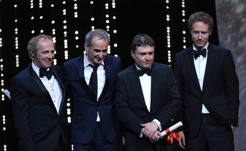 Cannes 2016-Cristian Mungiu si Olivier Assayas-22 mai 2016-500px