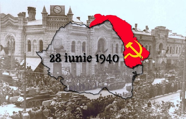 28 iunie 1940-URSS ocupa Basarabia-Primaria Chisinau-trupele sovietice