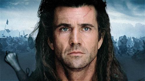 Mel Gibson in filmul Braveheart-captura video-500px