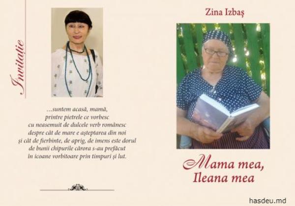 Zina Izbas-lansare carte Mama mea Ileana mea-colaj-Hasdeu-md-3 iunie 2016-600px