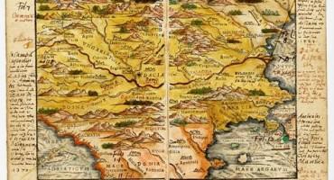 Harta cea mai veche a Romaniei-500px
