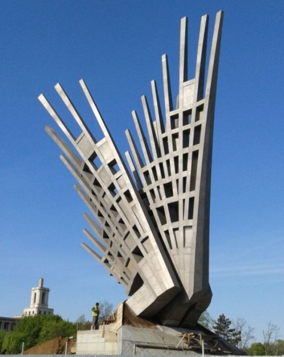 Aripi-Monumentul Luptătorilor din Rezistenţa Anticomunistă Foto Sînziana Ionescu