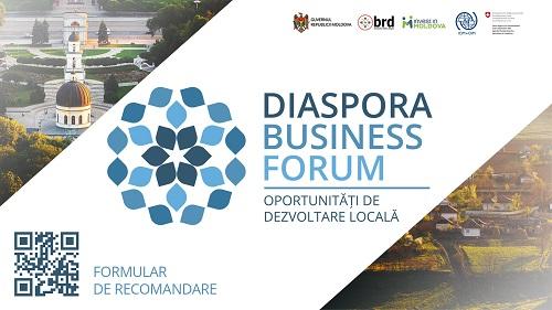 Diaspora Business Forum 21 august 2016