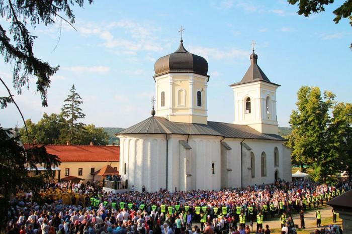 Gavriil Banulescu Bodoni canonizat-3-Manastirea-3 sept 2016-800px