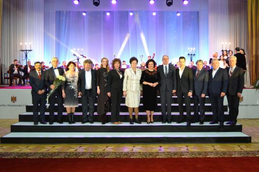Gala Premiilor Min Culturii-foto cu Laureatii 2016-17 ian 2017