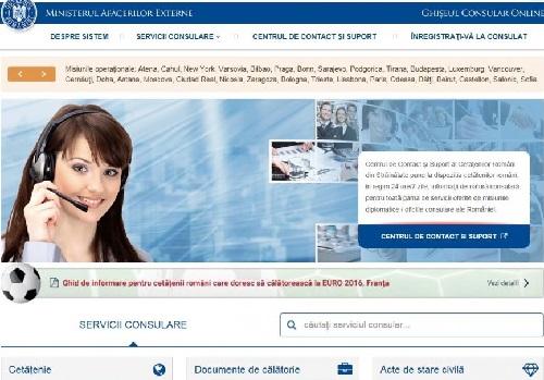 MAE-ro-eConsulat-ro-pt romanii de peste hotare-screen home page