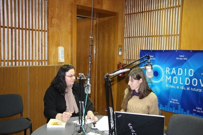 Radio Moldova-Omagiu Ion Ungureanu-Luminita Dumbraveanu-Daniela Gherman-30 ian 2017-IMG_2509