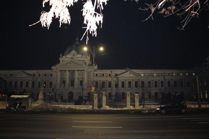 Spitalul Coltzea Bucuresti noaptea-foto Luminita Dumbraveanu-21 ianuarie 2017