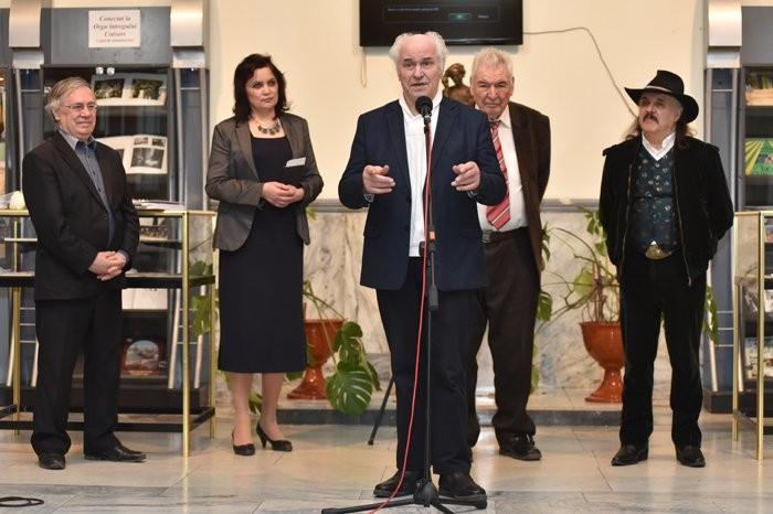 Expozitie Eugen Doga la Biblioteca Nationala-23 febr 2017