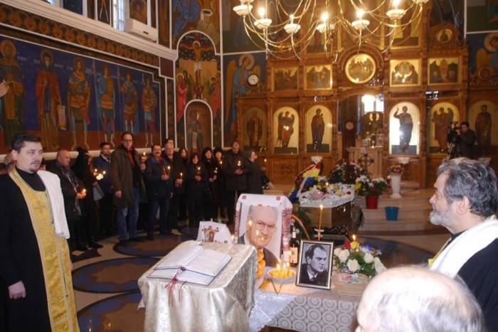 Ion Ungureanu foto de la funeralii Biserica Sf Teodora-foto Vasile Soimaru-31 ian 2017