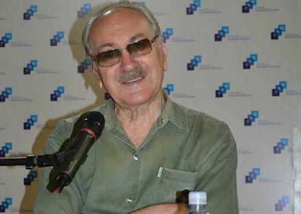 Ion Ungureanu la dublare filme TVM-foto cu banner TRM-md
