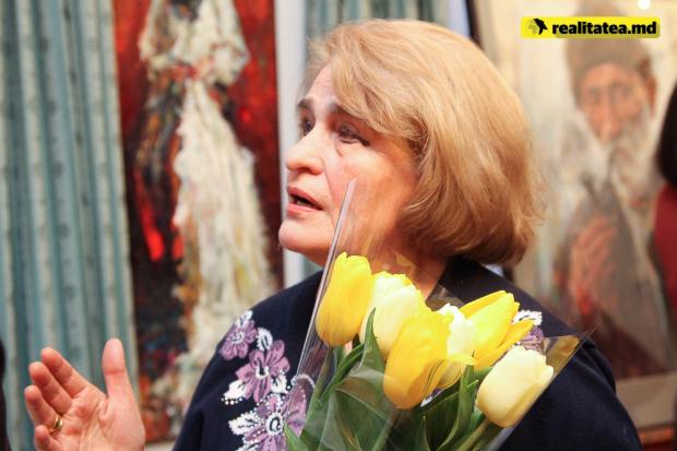 Eugen Doga in pictura Ambasada Ungariei Chisinau-sotia Natalia Doga-15 martie 2017