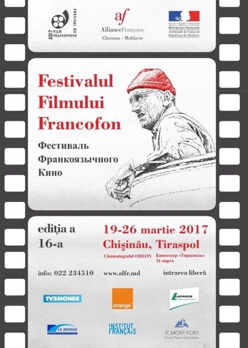Festival Film Francofon-Chisinau si Tiraspol-19-26 nartie 2017